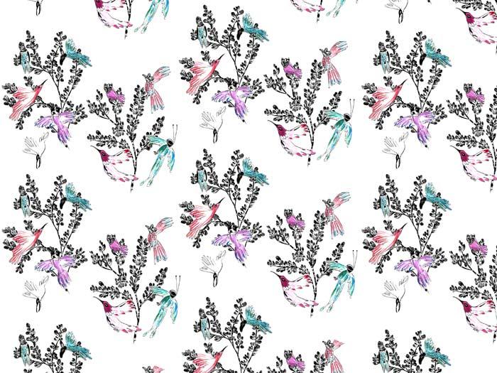 Fluttering birdimals